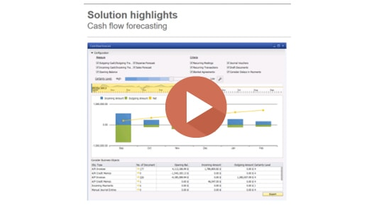 SAP Business One Hana Cashflow Forecast Demo