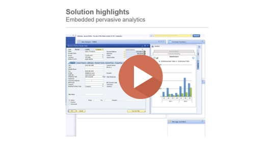 SAP Business One Hana Pervasive Analytics Demo
