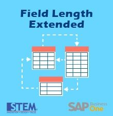 Field Length Extended in SAP Business One 9.2 - SAP Business One Tips