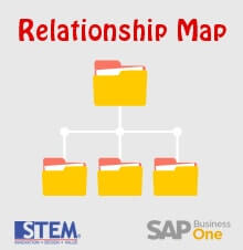 Relationship Map in SAP Business One - SAP Business One Tips