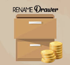 Rename Chart Of Account Drawer