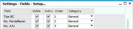 SAP Business One Indonesia Partner/UDF Position4