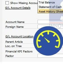 How to Define your Financial Key Performance Indicator (KPI) Factor in SAP Business One - SAP Business One Tips