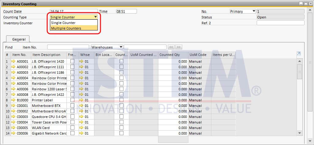STEM-SAP_Business_One_Tips-Multiple_Counter_In_Inventory_Counting-01
