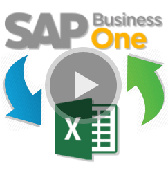 SAP B1 Tips - Exchange Data Exce SAP B1