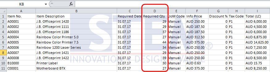 Copy Data Between Ms Excel and SAP Business One   SAP