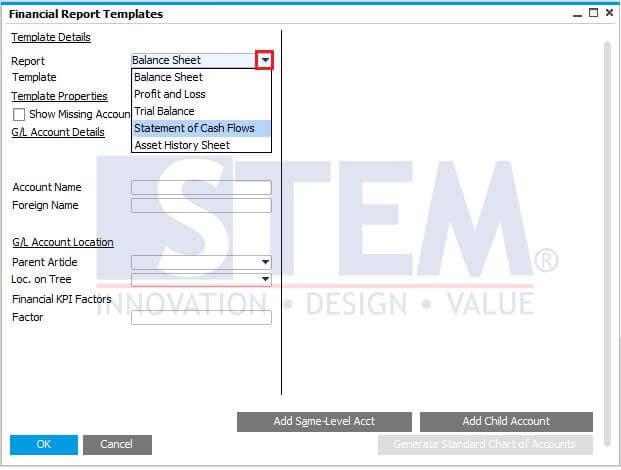 SAP_BusinessOne_Tips-STEM-Using Formula In Statement Of Cash Flow Report_01