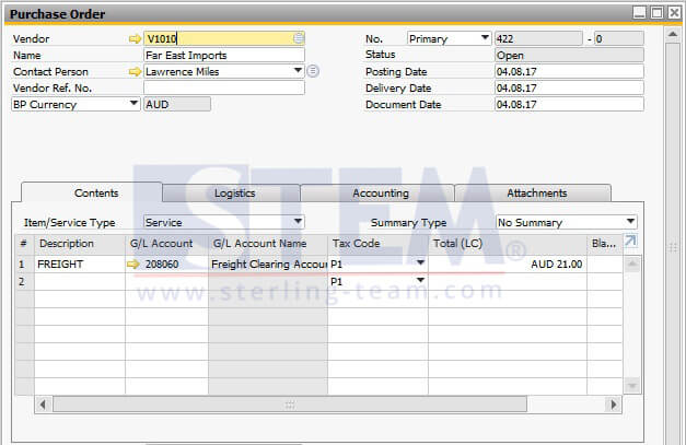 SAP_BusinessOne_Tips-STEM-ReferencedDocumentOnSAP_2