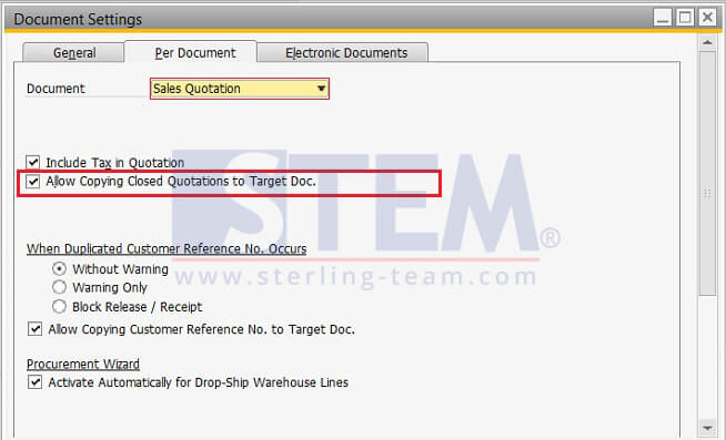 Sales Quotation | Reuse Your Closed Sales Quotation Sap Business One Indonesia Tips