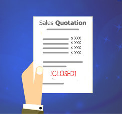 Reuse Your Closed Sales Quotation
