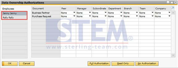 SAP_BusinessOne_Tips-STEM-Data Ownership_Setup_06