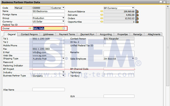 SAP_BusinessOne_Tips-STEM-Data Ownership_Setup_09