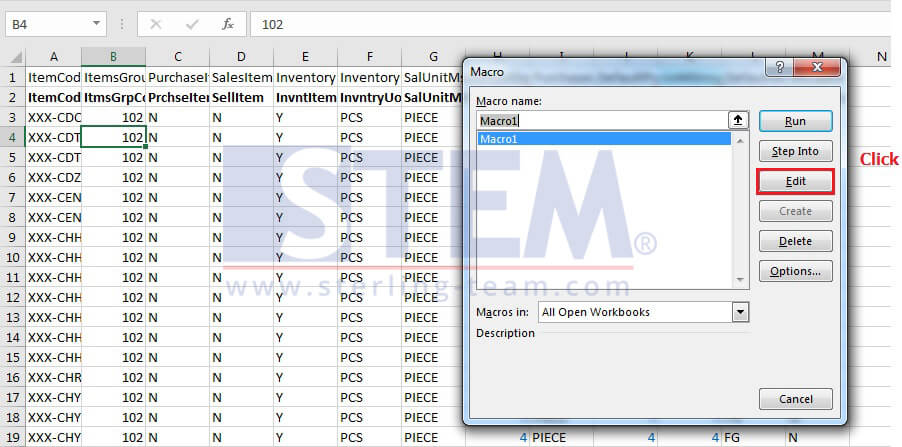 SAP_BusinessOne_Tips-STEM-Using Macro for Spliting Excel Documents_04