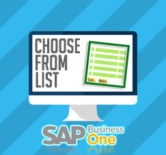 Set Maximum Rows On Your Choose From List