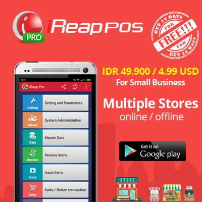 iREAP POS PRO Support Multiple Store
