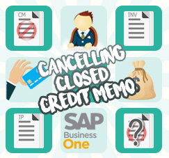 Cancelling Your Closed Credit Memo