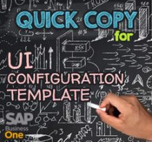 Copy UI Configuration Template between Databases
