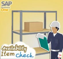 Set Automatic Availability Check for Sales Order
