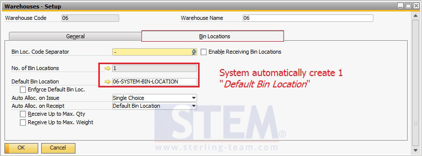 Using Bin Location on SAP Business One