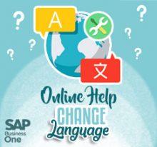 Change Language on HTML Based Online Help SAP B1 9.3