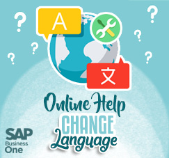 Change Language on HTML Based Online Help SAP B1 9.3
