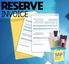 AR Invoice vs AR Reserve Invoice