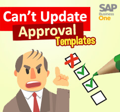 How To Update Approval Template Without Error