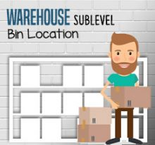 Using Warehouse Sublevel on Bin Location
