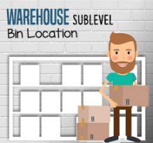 Using Warehouse Sublevel on Bin Location