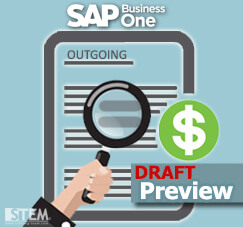 How to Preview Your Incoming or Outgoing Payment Draft on SAP B1