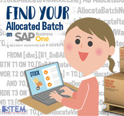 Find Your Allocated Batch Number on Your SAP Business One