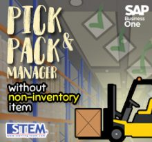 Pick and Pack Manager on SAP B1