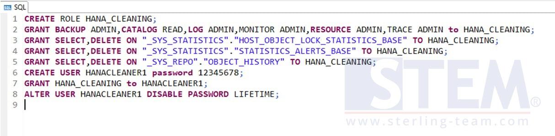 HANA Housekeeping Using Python Script | SAP Business One
