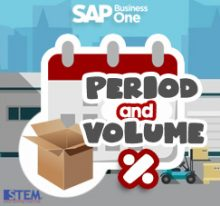 SAP Business One Tips - SAP Gold Partner Indonesia - Period and Volume Discount