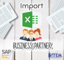 SAP Business One Tips - SAP Gold Partner Indonesia - Upload with Excel Format to SAP Business One