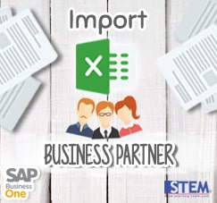 Upload with Excel Format to SAP Business One
