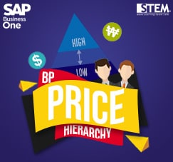 SAP Business One Tips - STEM SAP Gold Partner Indonesia - How To Set Up Pricing Hierarchy for Business Partners on SAP B1