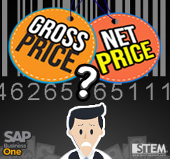 SAP Business One Tips - STEM SAP Gold Partner Indonesia - Choose Your Pricing Mode on SAP B1 Gross or Net