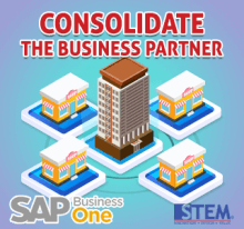 SAP Business One Tips - Consolidate The Business Partner