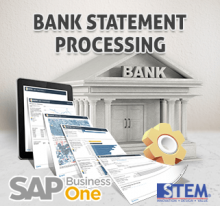 SAP Business One Tips Bank Statement Priocessing