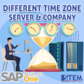 SAP Business One Tips - Different Time Zone