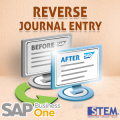 SAP Business One Tips Reverse journal Entry