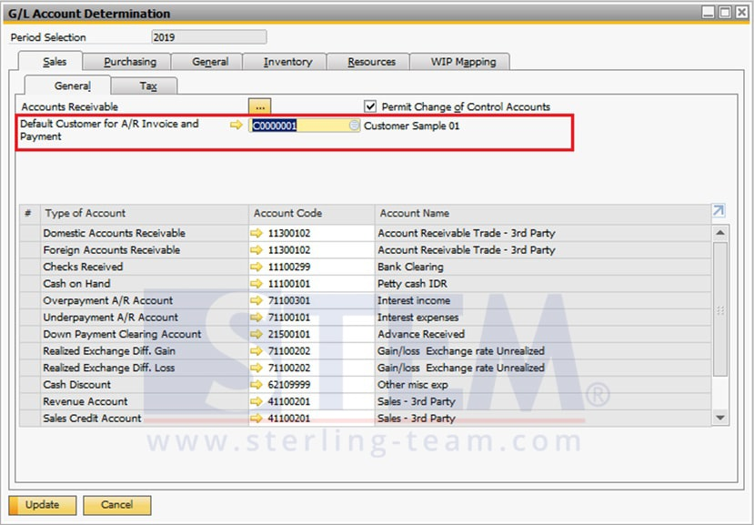 SAP_Business_One_Tips-STEM-AR Invoice with Payment Feature for One Time Customer on SAP B1