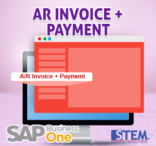 SAP Business One Tips AR Invoice Statement