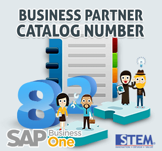 SAP Business One Tips Business Partner Catalog Number