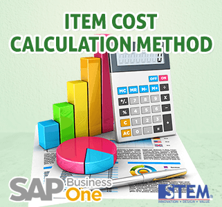 SAP Business One Tips Item Cost Calculation Method