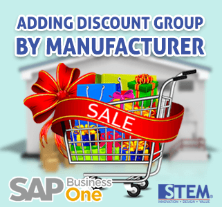 SAP-Business-One-Tips-Adding-Discount-Group