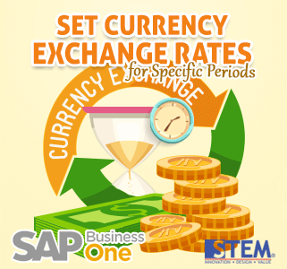 SAP Business One Tips Set Currency for Specific Periods