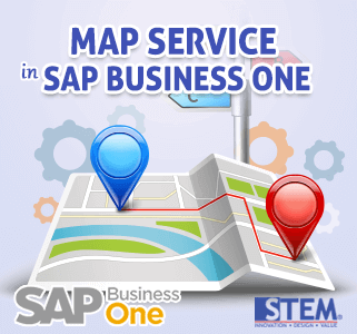 SAP Business One Tips Map Services