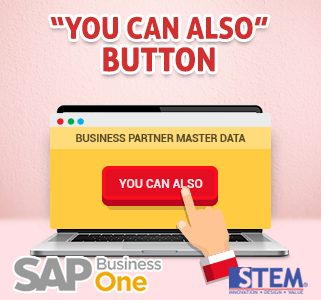SAP Business One Tips you can also button